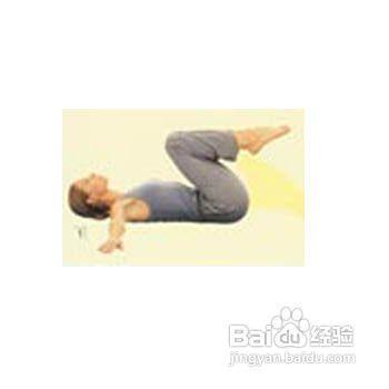 产后瑜伽图图片