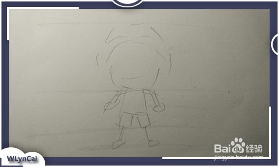 动漫人物怎么画简笔画