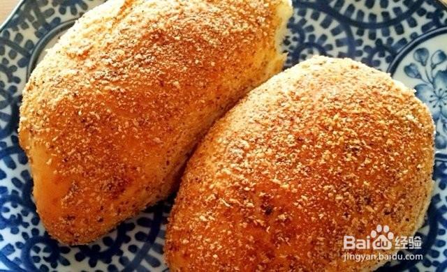 咖喱面包的做法