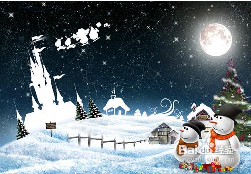 圣诞节祝福语简短英语图片