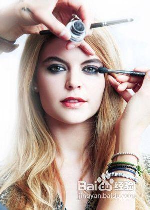 眼妆的画法步骤视频图片