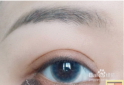 最简单的眼线画法图片