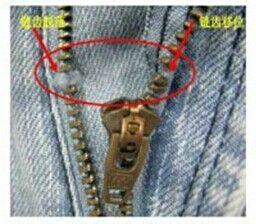 YKK拉链的链牙在加工与生活中的保护方法!