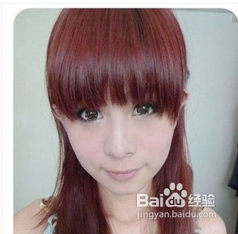 长脸型适合什么刘海图片图片