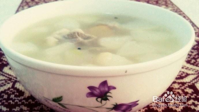 排骨白萝卜汤的做法