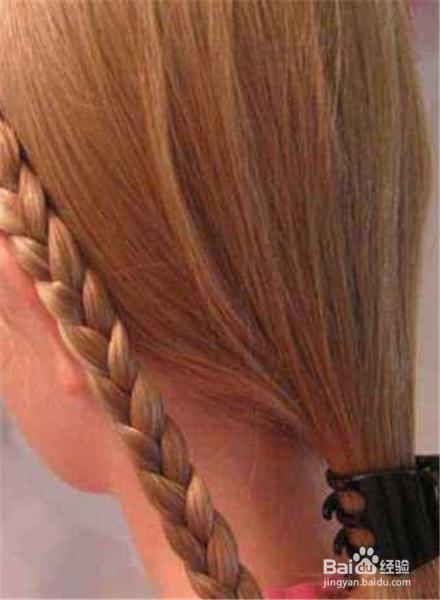 长发发型扎法视频图片