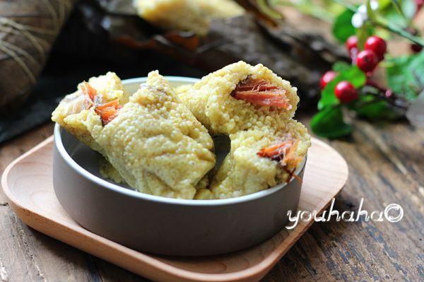 大黄米腊肉粽子