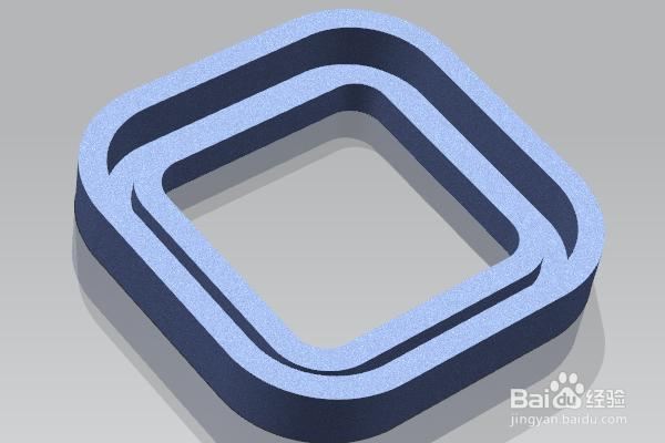 UG12.0练习三维建模一千零七十二扫描凹...