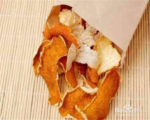 新鲜桔子皮的功效与作用图片