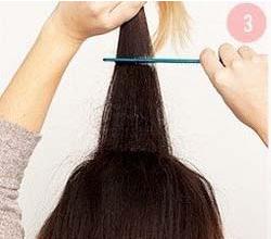 低马尾辫的简单扎发图片图片