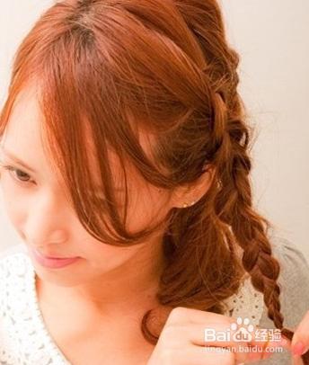 烫哪种头发好看的步骤图图片