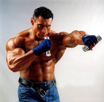 教你锻炼胸肌的最快方法